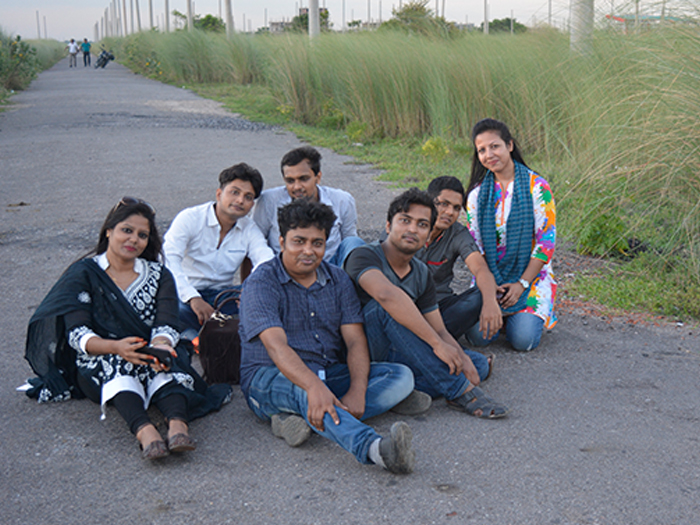 Small Picnic with Our Students